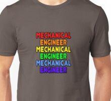 Rainbow Mechanical Engineer Unisex T-Shirt