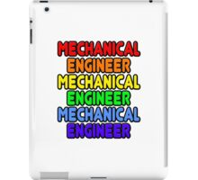 Rainbow Mechanical Engineer iPad Case/Skin