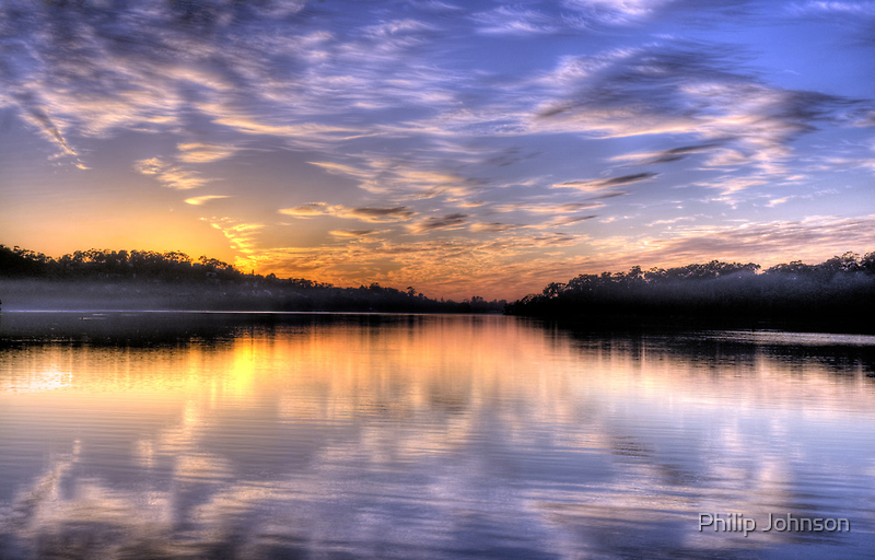 Lavender - Narrabeen Lakes, Sydney Australia - The HDR Experience by Philip Johnson