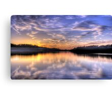 Lavender - Narrabeen Lakes, Sydney Australia - The HDR Experience Canvas Print