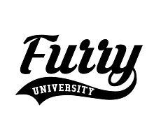 Furry University Photographic Print
