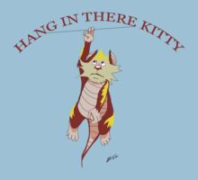 Hang in there kit...Oh just let go snarf! by Charles Thurston