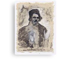 Delacroix's Portrait Canvas Print