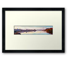 The Quay at Dusk, Ballina, County Mayo Framed Print