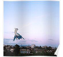 Latios blue sky Poster