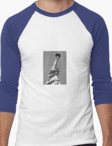 The Statue of Liberty Men's Baseball ¾ T-Shirt