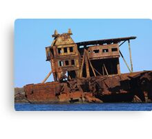 Shipwreck! Canvas Print