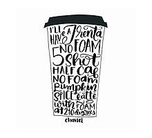 Pumpkin Spice Latte No Foam Version 1 by Chrystalizabeth