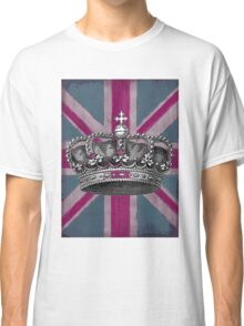 Union Jack and Crown Classic T-Shirt