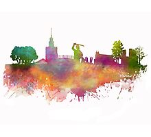 Warsaw skyline Photographic Print
