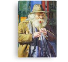 The tin Whistle Canvas Print