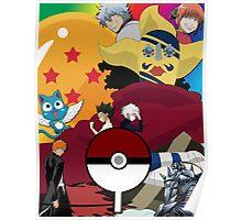 Anime Mashup Poster