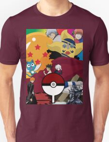 Anime Mashup Unisex T-Shirt