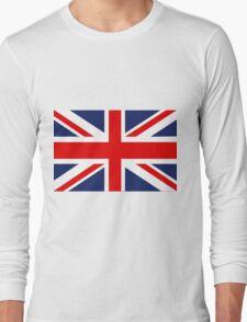 Union Jack Flag - United Kingdom Long Sleeve T-Shirt