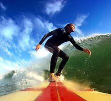 Surfing by Manuel Fernandes