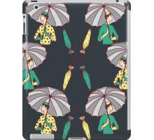 Navy Umbrella Girls iPad Case/Skin