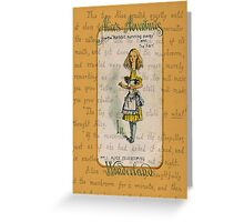 Alice Telescoping Greeting Card