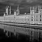 Palace of Westminster, London by EblePhilippe