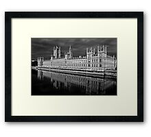 Palace of Westminster, London Framed Print