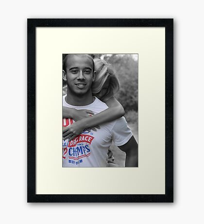 Don't Drop me!! Framed Print