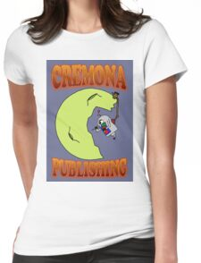 Cremona Publishing Moon Womens Fitted T-Shirt