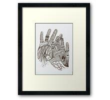 Dactiloscopia Framed Print