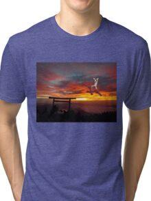Latias in Japan Tri-blend T-Shirt