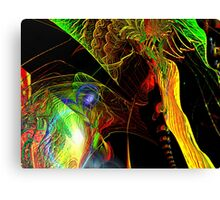 Three Layer Blender #4: Hyperbolic Sundial abstract (UF0367) Canvas Print