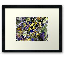 Three Layer Blender #5:  Cheap Sunglasses abstract (UF0368) Framed Print