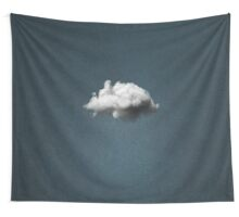 WAITING MAGRITTE Wall Tapestry
