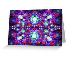 Three Layer Blender #7:  Diamonds Are... abstract(UF0374)  Greeting Card