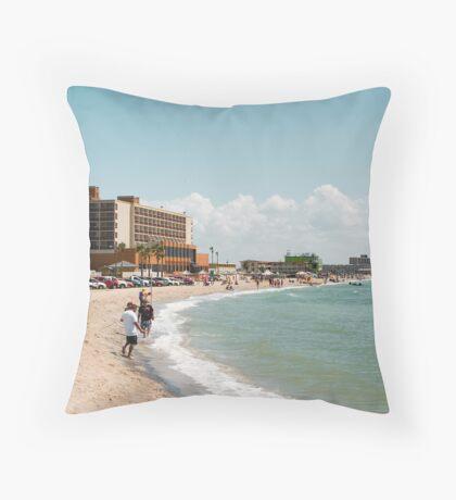 Corpus coast Throw Pillow