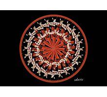 sdd Douglas Gymnast Mandala Fractal 400A Photographic Print