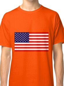 Stars & Stripes - United States of America Classic T-Shirt