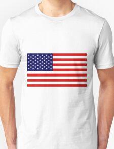 Stars & Stripes - United States of America Unisex T-Shirt