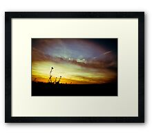 1969, in the sunshine Framed Print