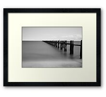 WW2 Submarine Defences Framed Print