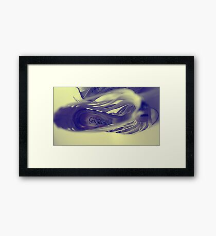 your feet look gorgeous Framed Print