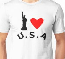 American Statue of Liberty Unisex T-Shirt