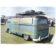 VW Camper, Norfolk, UK Poster