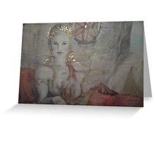 Aphrodite's look  Greeting Card