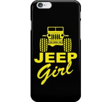 Jeep Girl Yellow iPhone Case/Skin