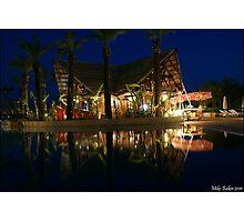 Pool Bar Photographic Print