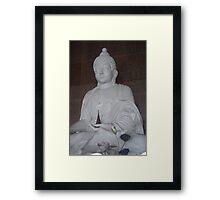 Buddha, Singapore Framed Print