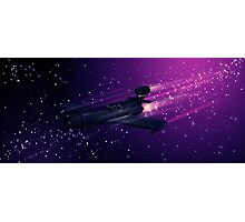 Space Cruiser Photographic Print