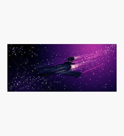Space Cruiser Photographic Print
