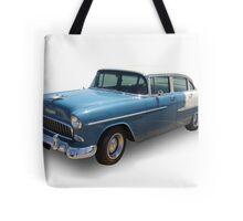 Blue Cadillac Tote Bag