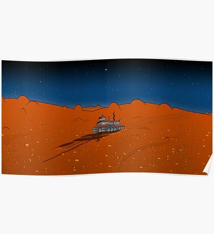 Roaming Mars Poster