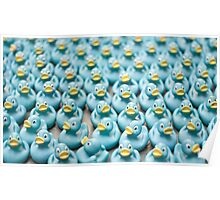 A Sea of Rubber Ducks Poster