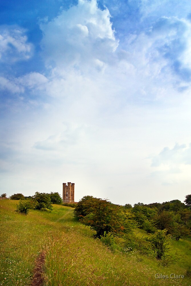 Broadway Tower, The Cotswolds, England by Giles Clare
